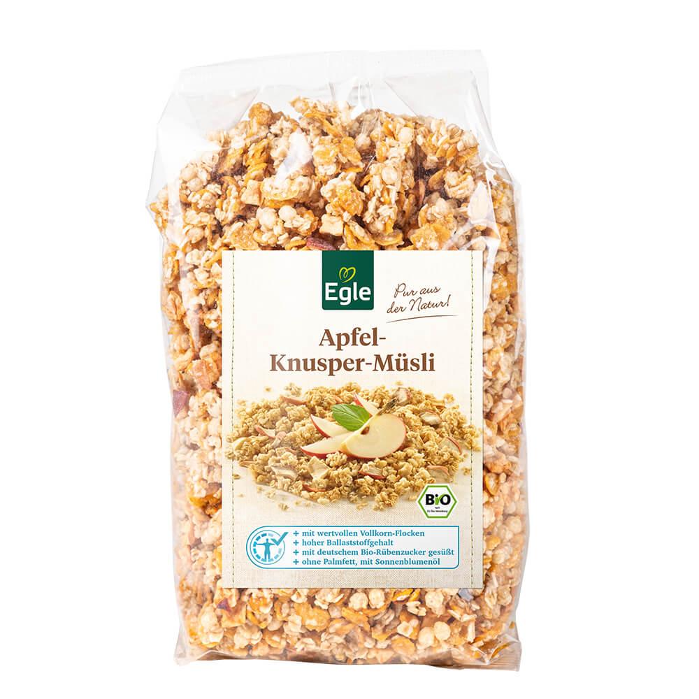 Bio Apfel-Knusper-Müsli, 400 g