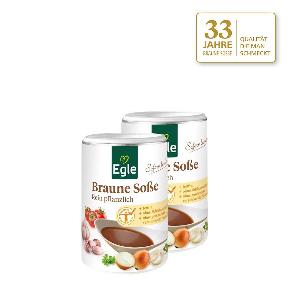 Braune Soße 2 x 150 g - Jubiläums Angebot