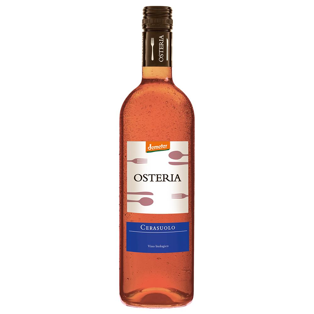 Osteria Rosato Cerasuolo DOC - Bio Roséwein aus Italien 0,75 l