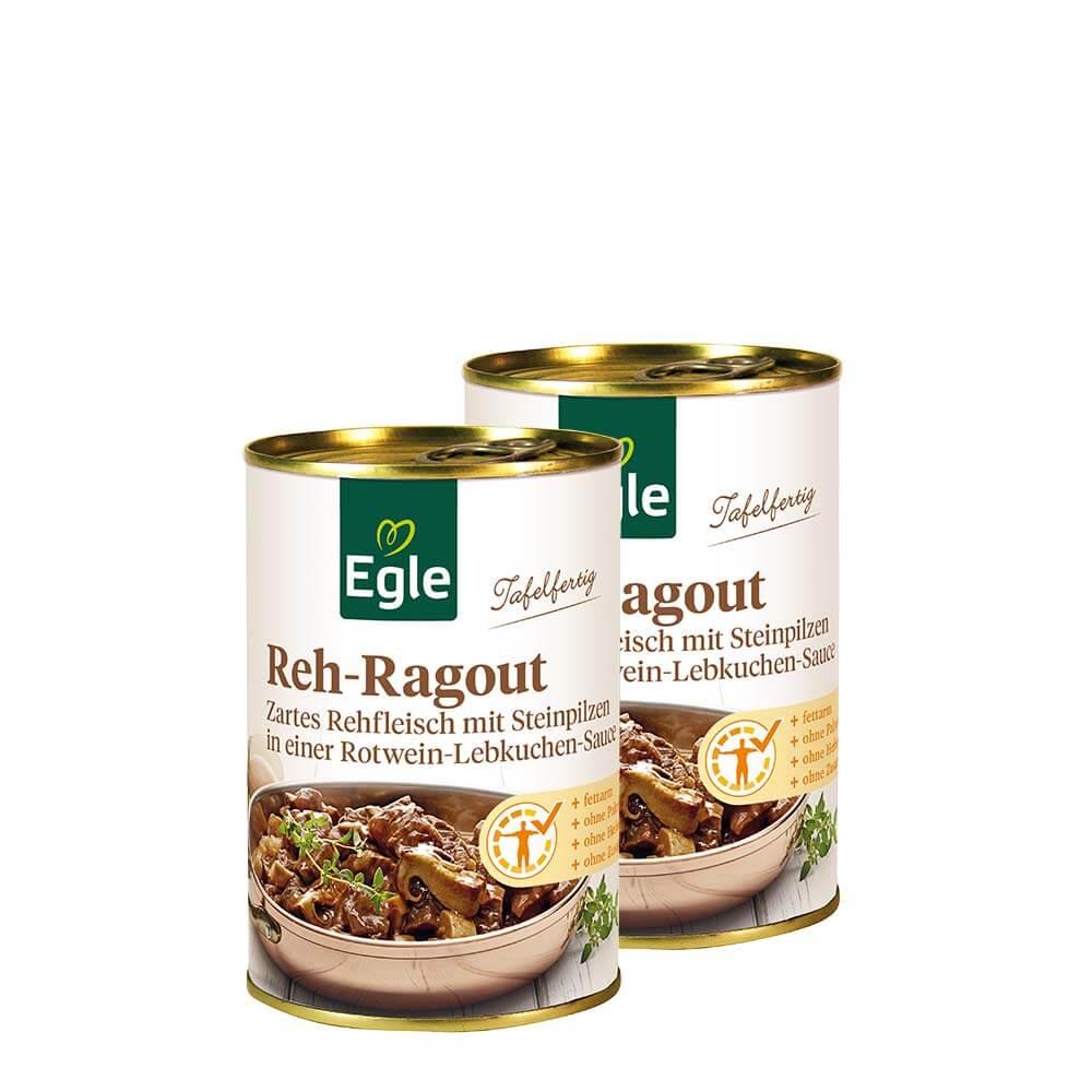 Reh-Ragout im Doppelpack 2 x 400 g