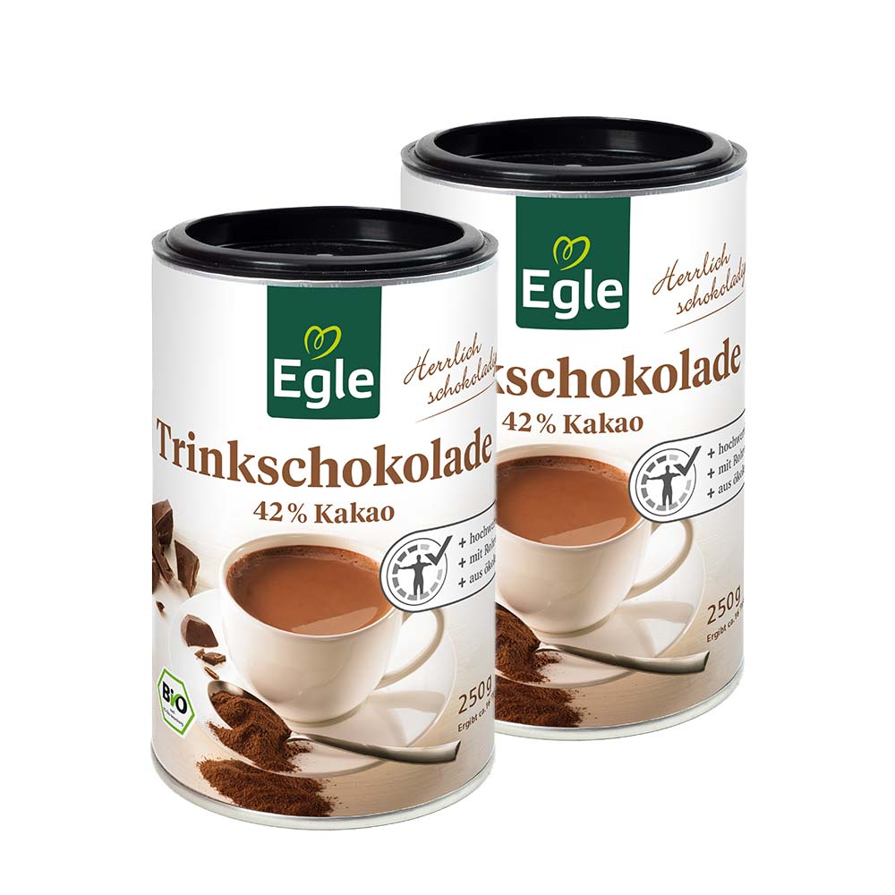Bio Trinkschokolade 2 x 250 g