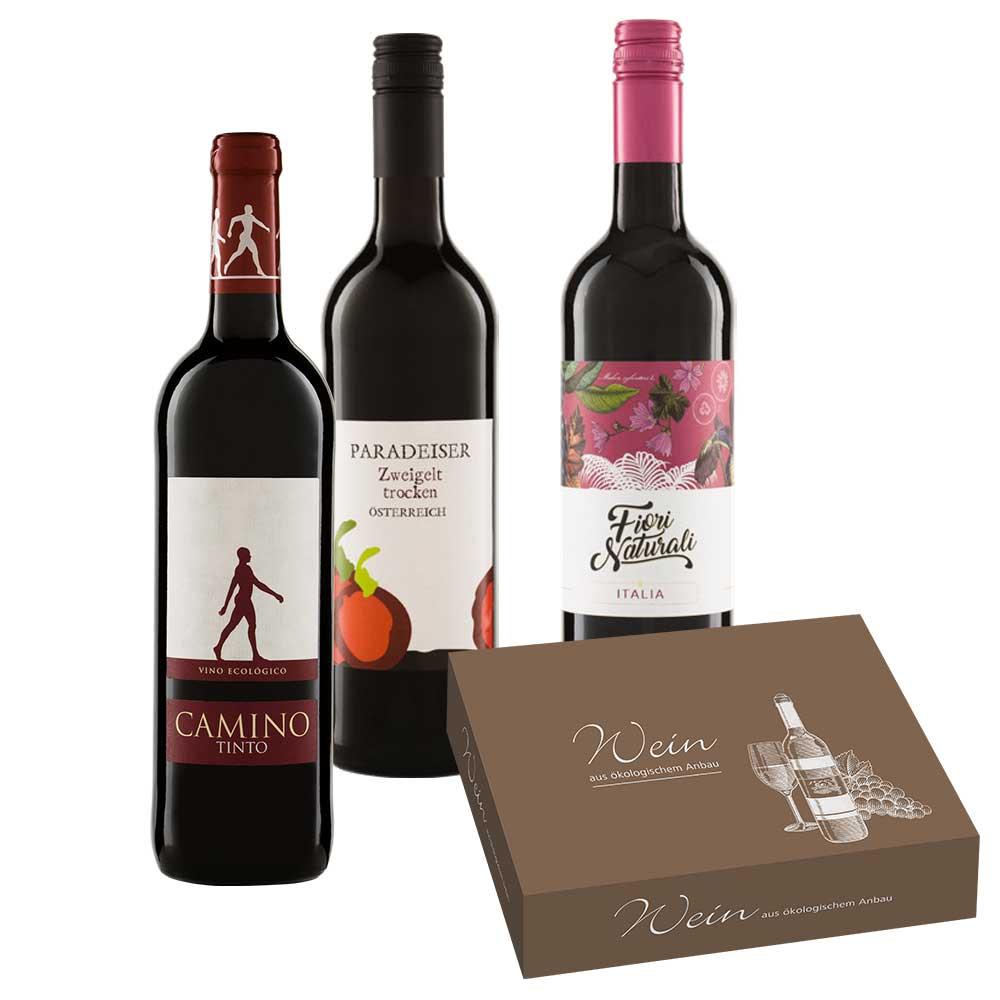 Rotwein-Paket 3 x 0,75 l