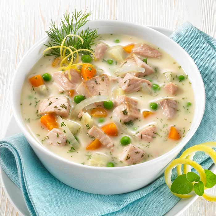 Fisch-Suppen