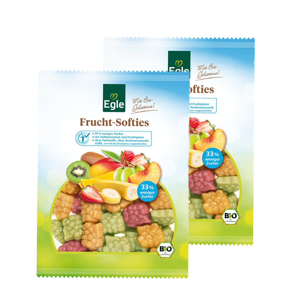 Bio Frucht-Softies 2 x 250 g