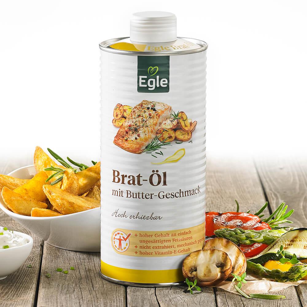 Bratöl mit Butter-Geschmack Kostprobe, 0,75 l