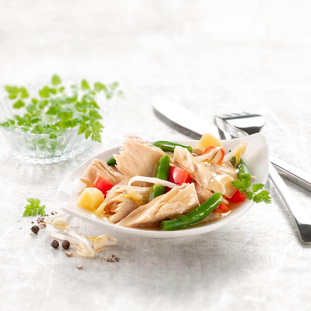 Thunfisch-Salat würzig 3 x 190 g – Jubiläums Angebot