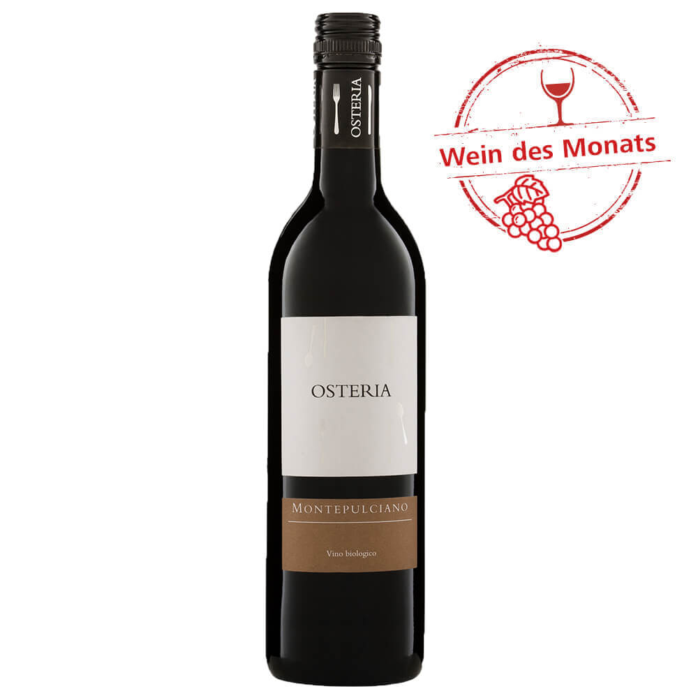 Wein des Monats: Osteria Montepulciano 0,75 l