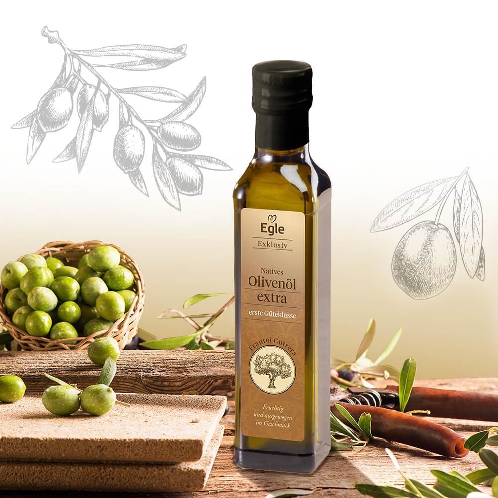 Natives Olivenöl extra vergine aus Italien 0,25 l