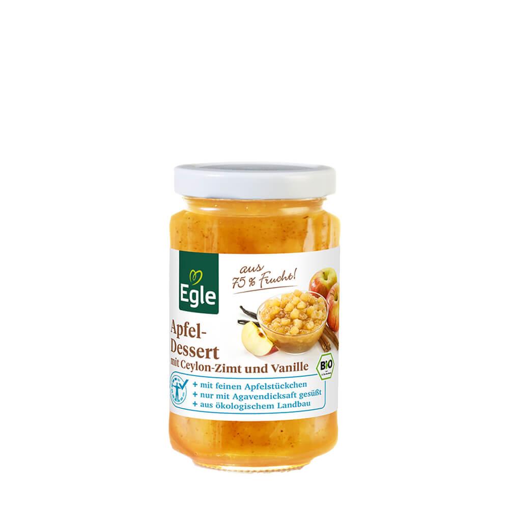 Bio Apfeldessert mit Gewürzen, 230 g Kostprobe