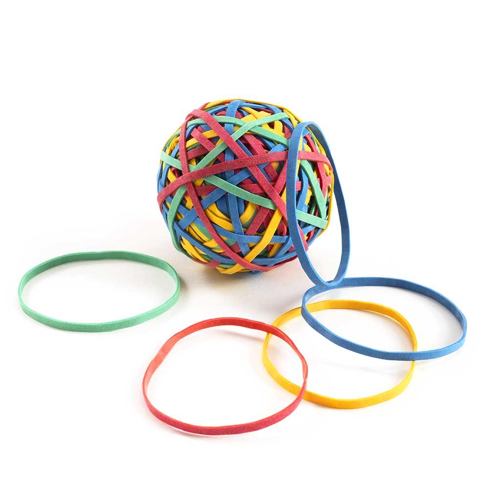 Gratis Gummibänder-Ball
