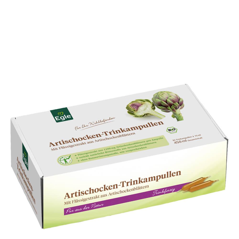 Bio Artischocken-Trinkampullen 30 x 15 ml