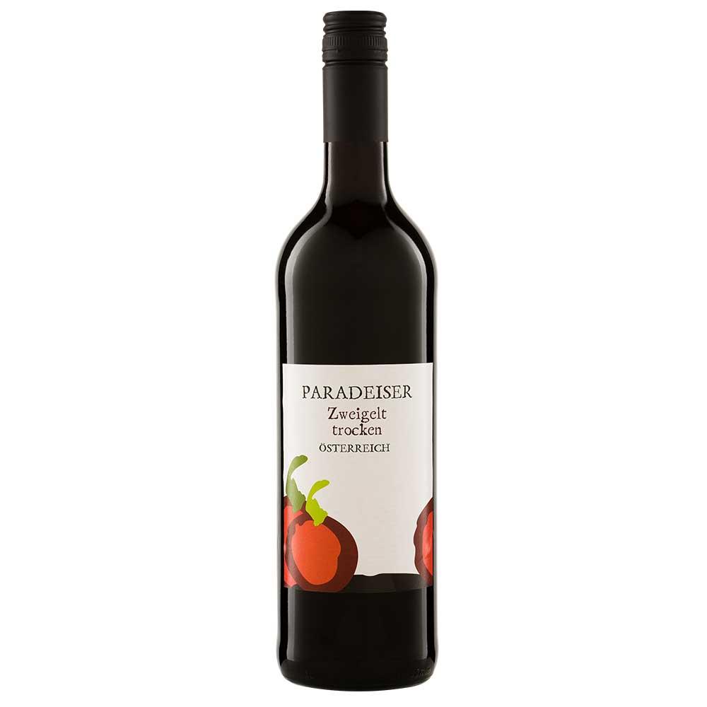 Paradeiser Zweigelt - Bio Rotwein aus Österreich 0,75 l
