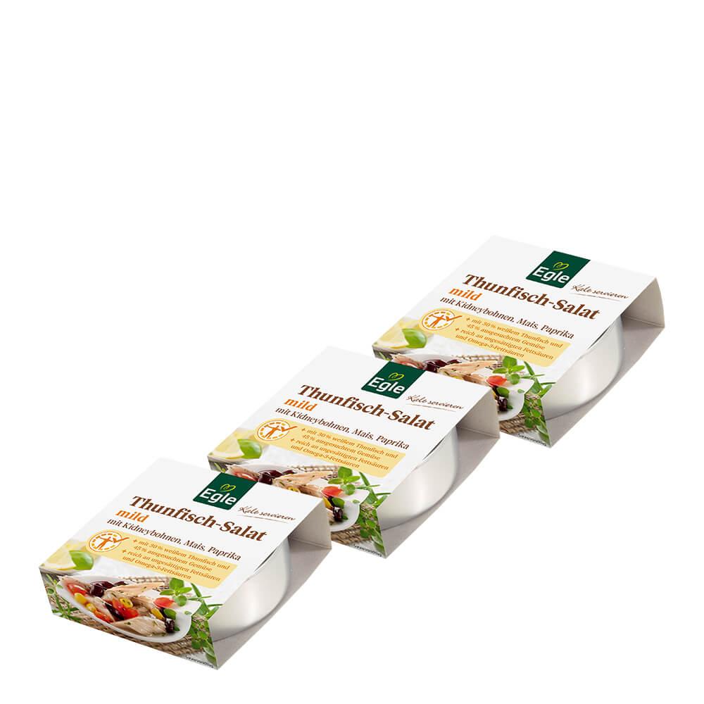 Thunfisch-Salat mild 3 x 190 g