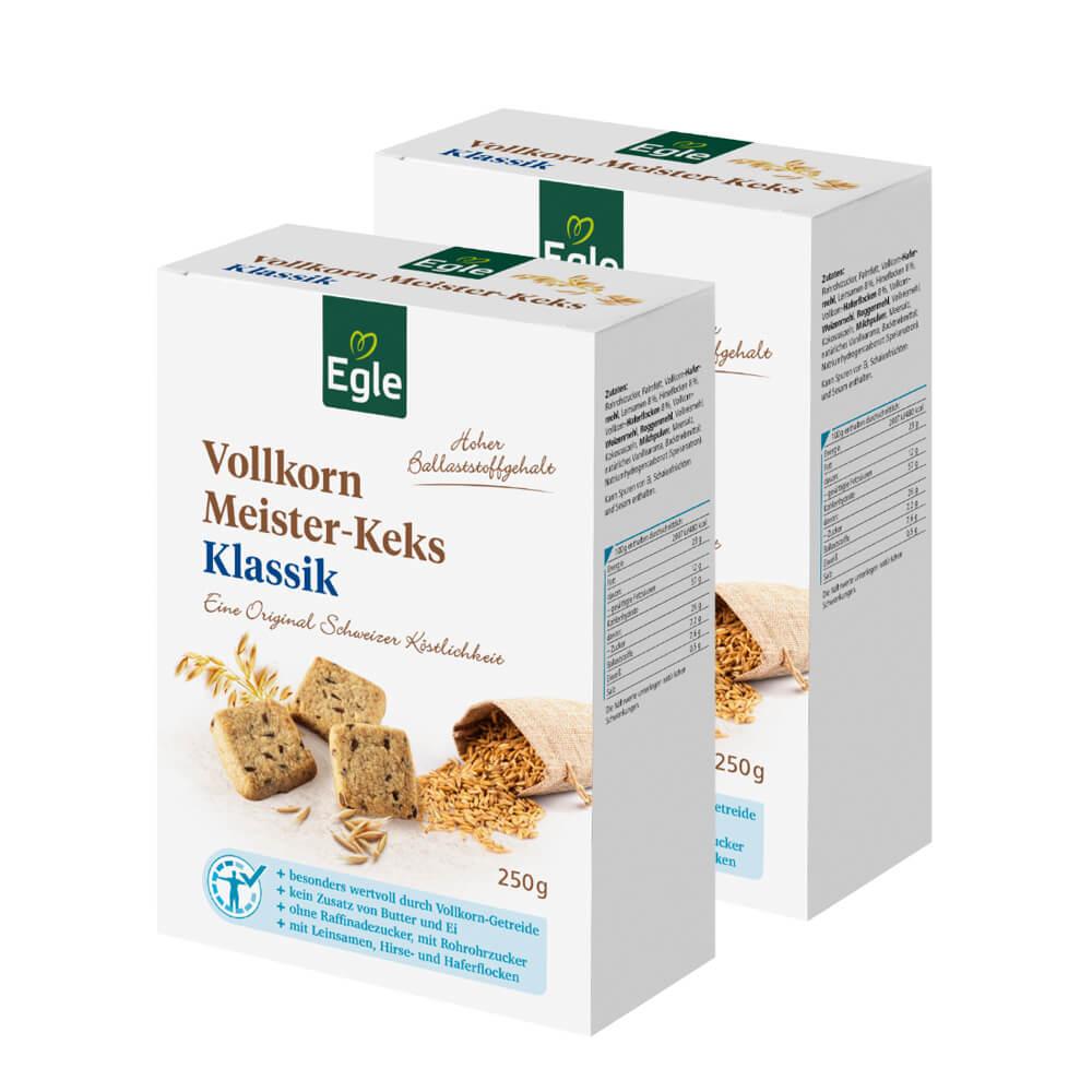 Vollkorn Meister-Keks Klassik 2 x 250 g