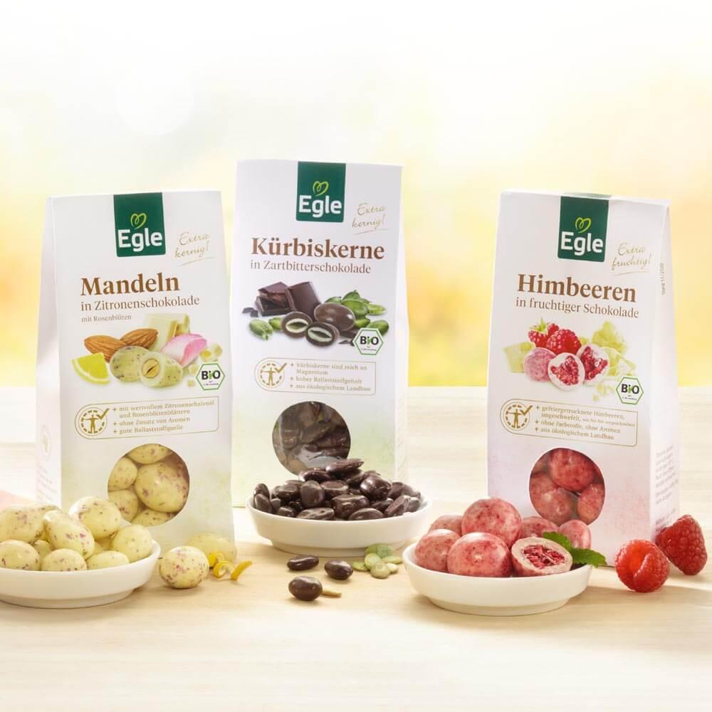 Genuss-Paket Schoko-Delikatessen 3 x 90 g