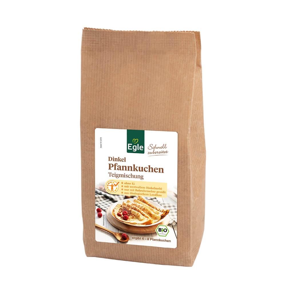 Bio Dinkel-Pfannkuchenteigmischung 300 g Kostprobe