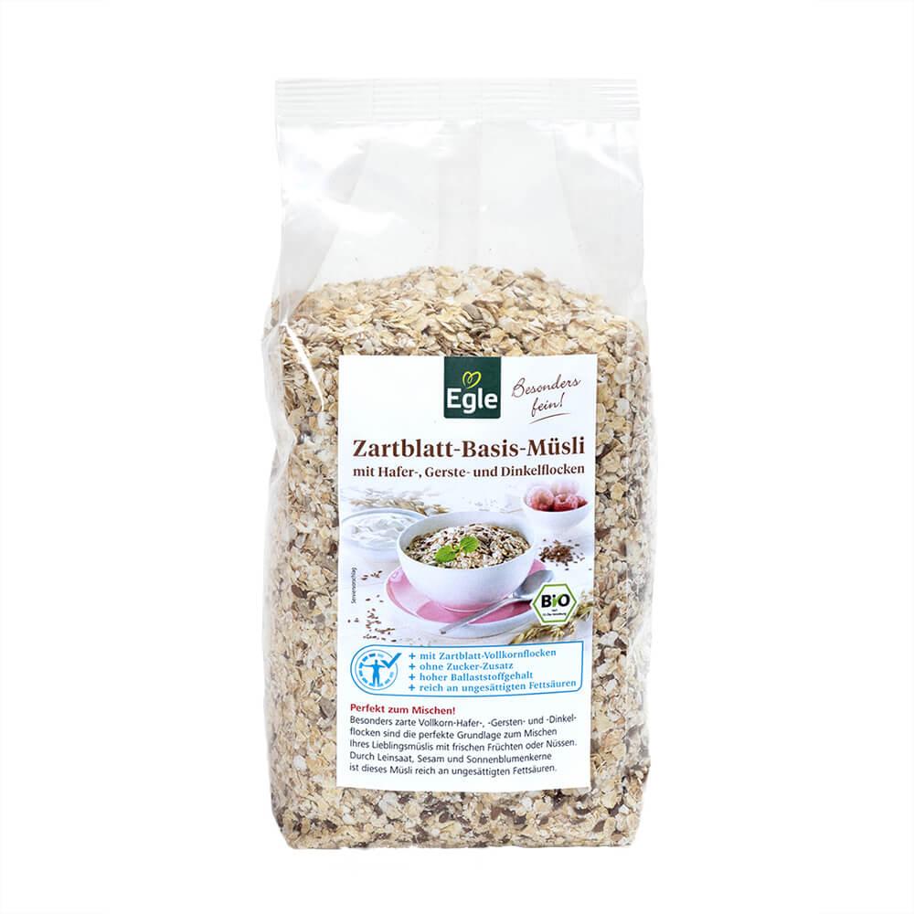 Bio Zartblatt Basis-Müsli 400 g