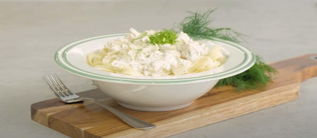 Pasta-mit-Lachs-und-Fenchel