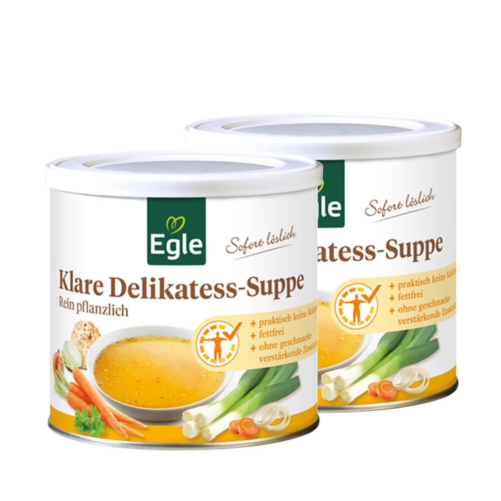 Klare Delikatess-Suppe im Doppel-Pack 2 x 400 g