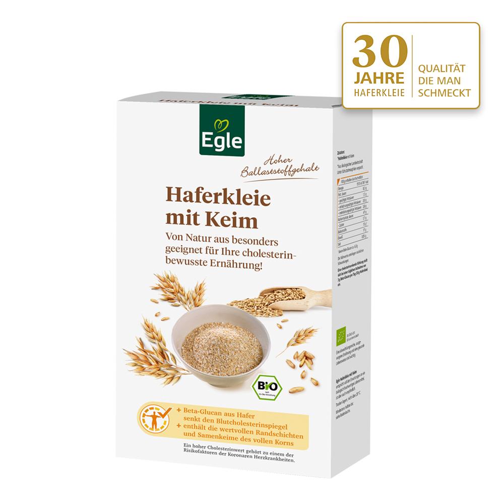 Bio Haferkleie mit Keim 500 g - Jubiläums- Angebot