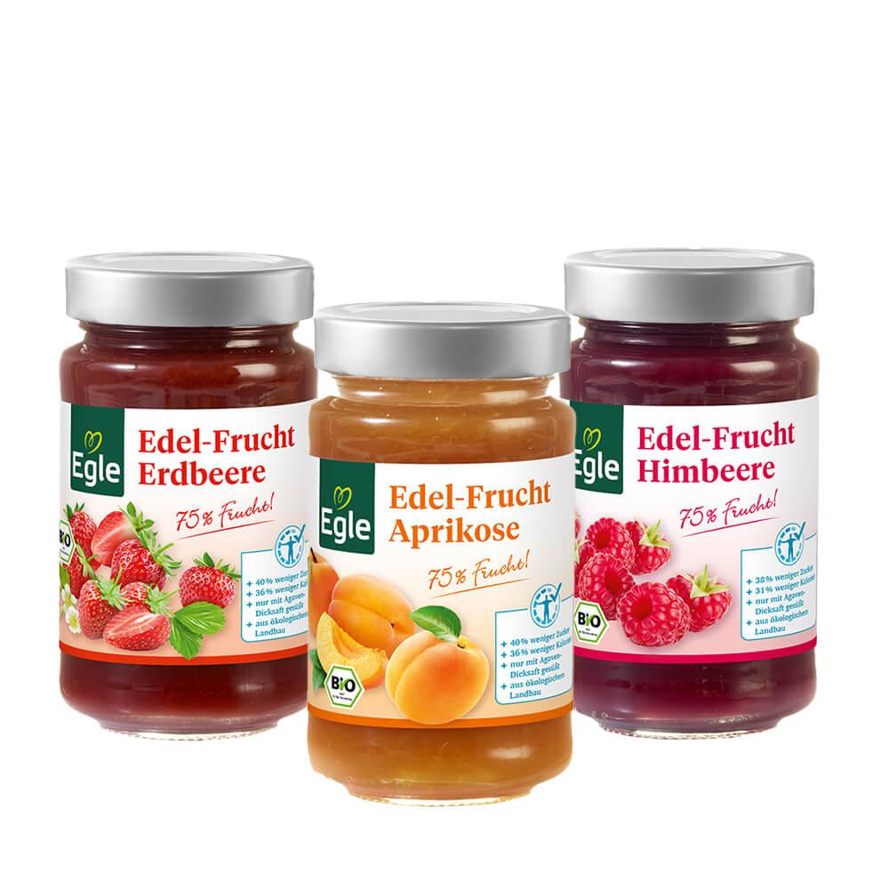 Edel-Frucht Bestseller-Paket 3 x 250 g