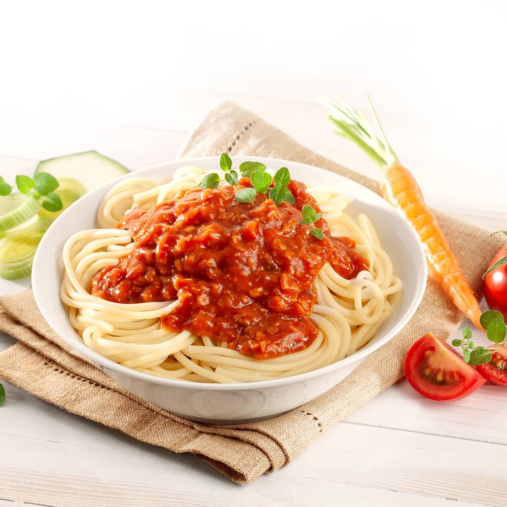 Vegetarische Soße Bolognese 6 x 60 g