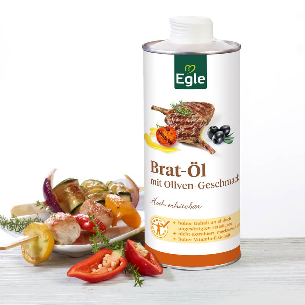 Brat-Oel-Olivengeschmack
