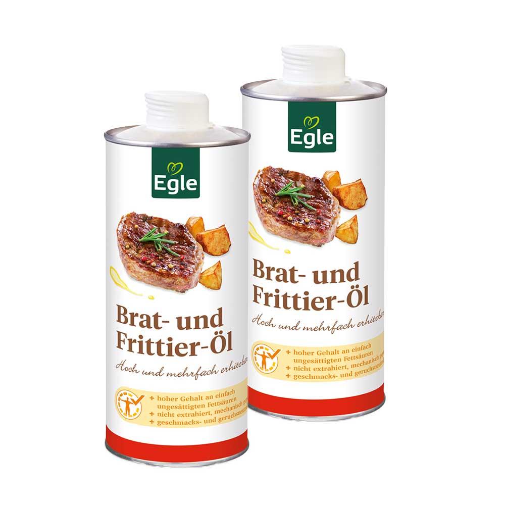 Brat- und Frittieröl 2 x 0,75 l – Doppelpack