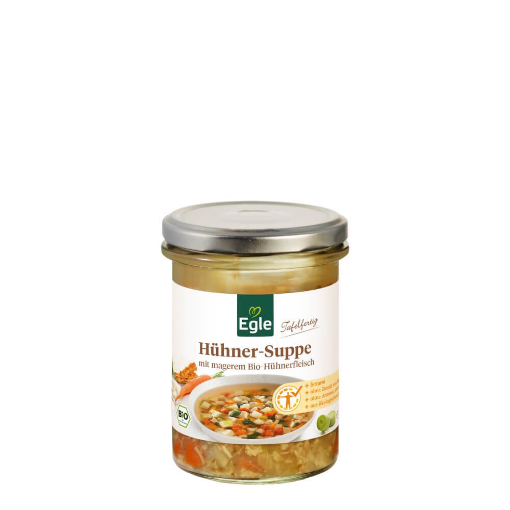 Bio Hühnersuppe mit Gemüse 350 ml