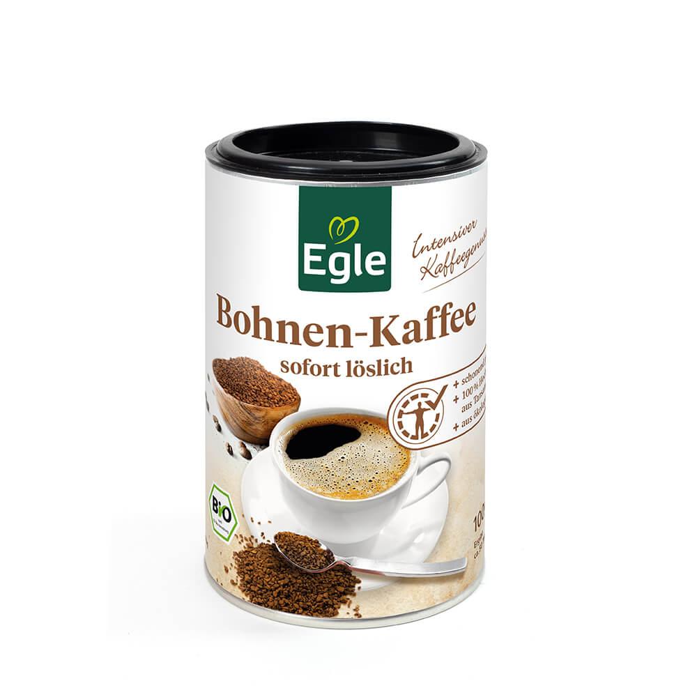 Löslicher Bio Bohnen-Kaffee 100 g