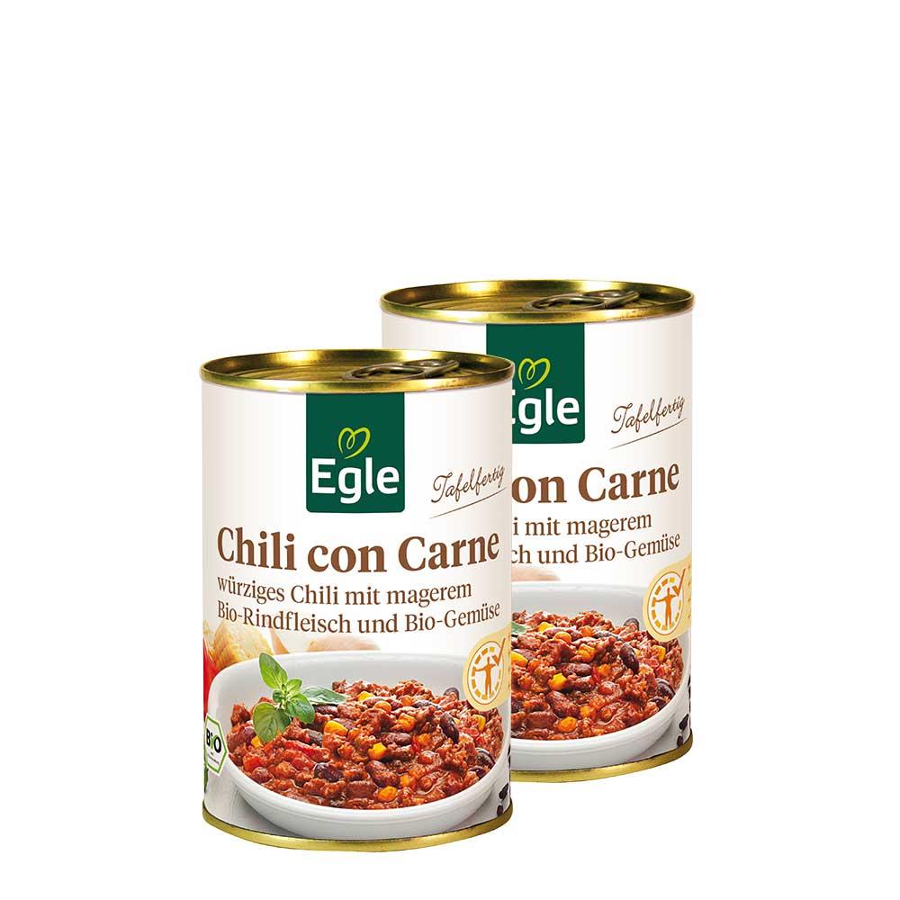 Doppel-Pack Bio Chili con Carne 2 x 400 g