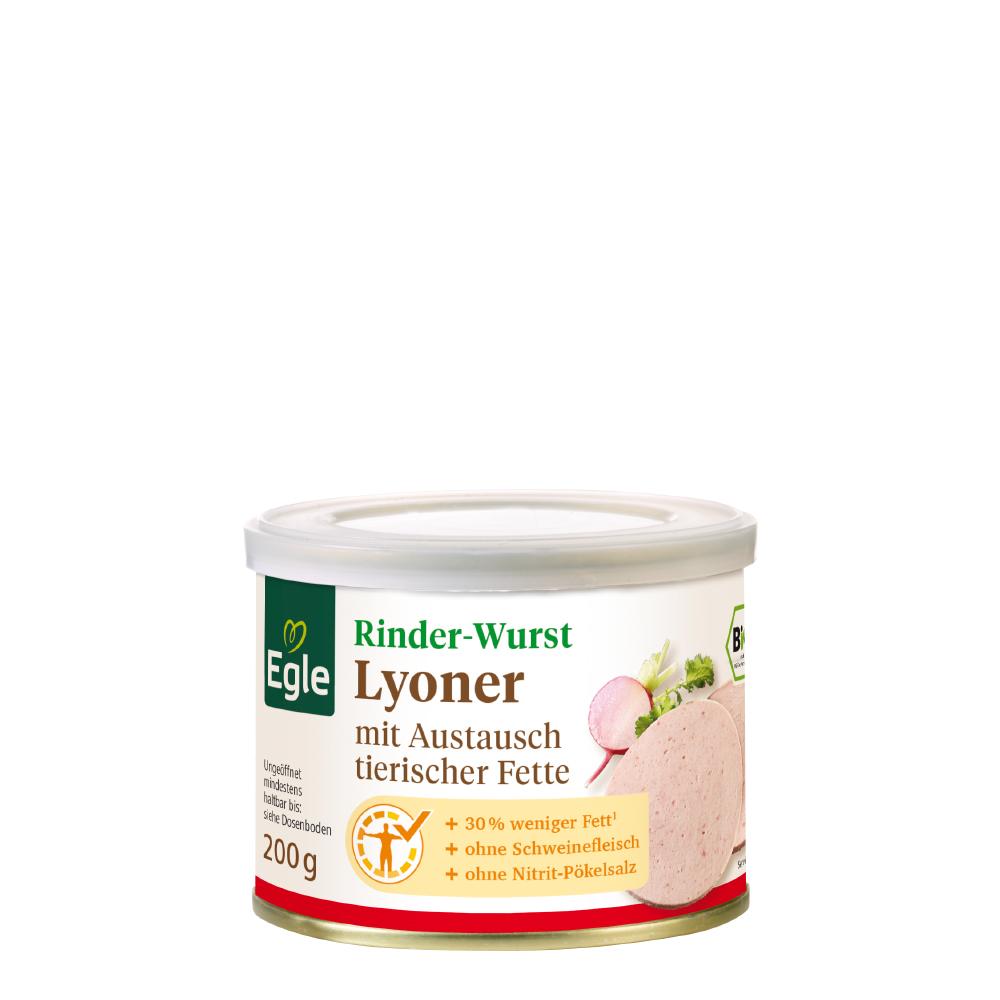 Bio Rinder-Lyoner 200 g