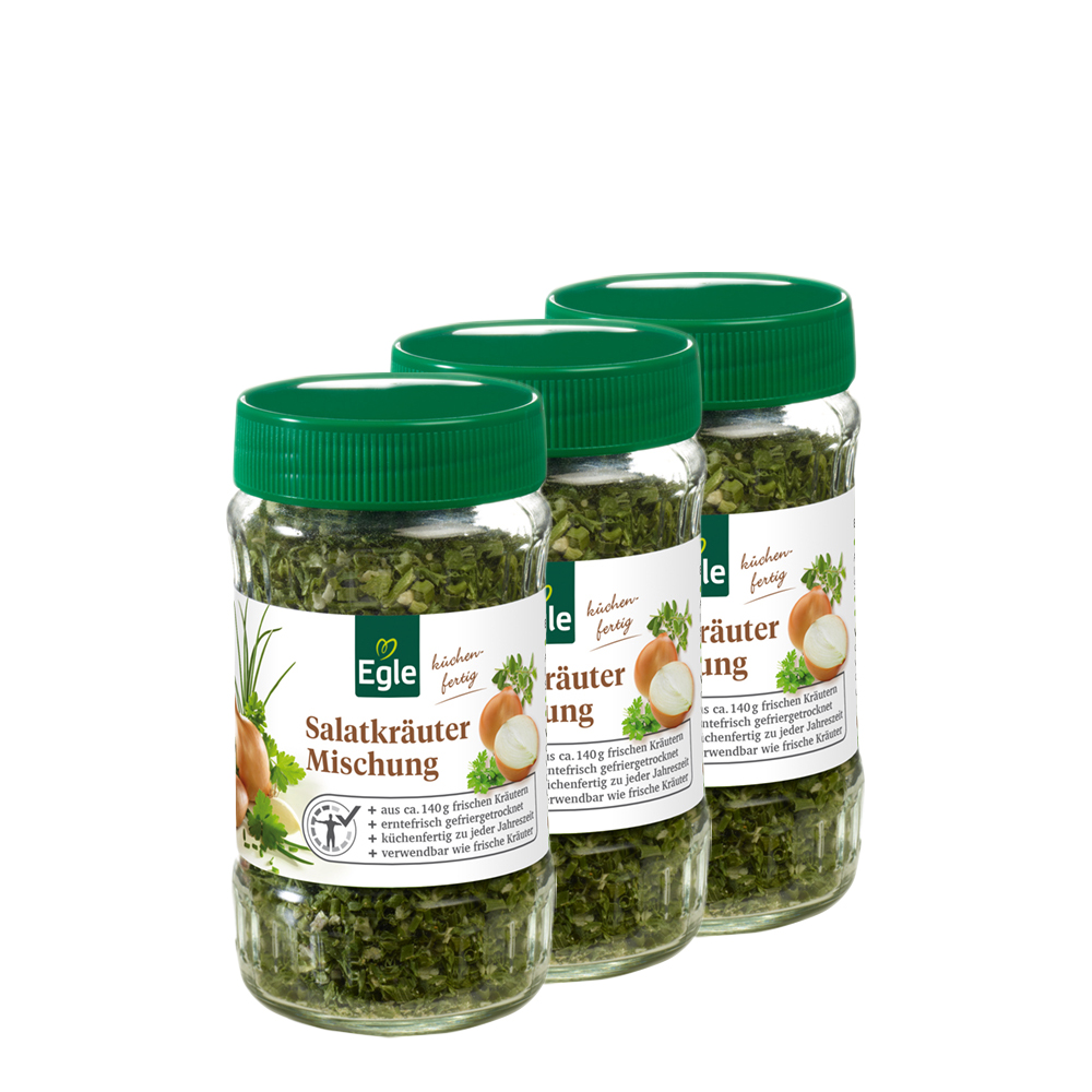 Salatkräuter-Mischung 3 x 20 g