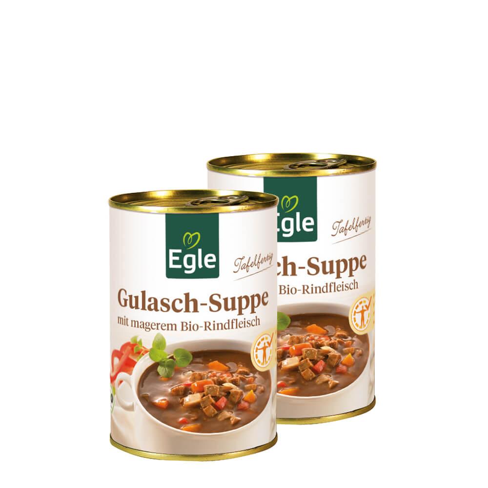 Bio Gulasch-Suppe Doppelpack 2 x 400 g
