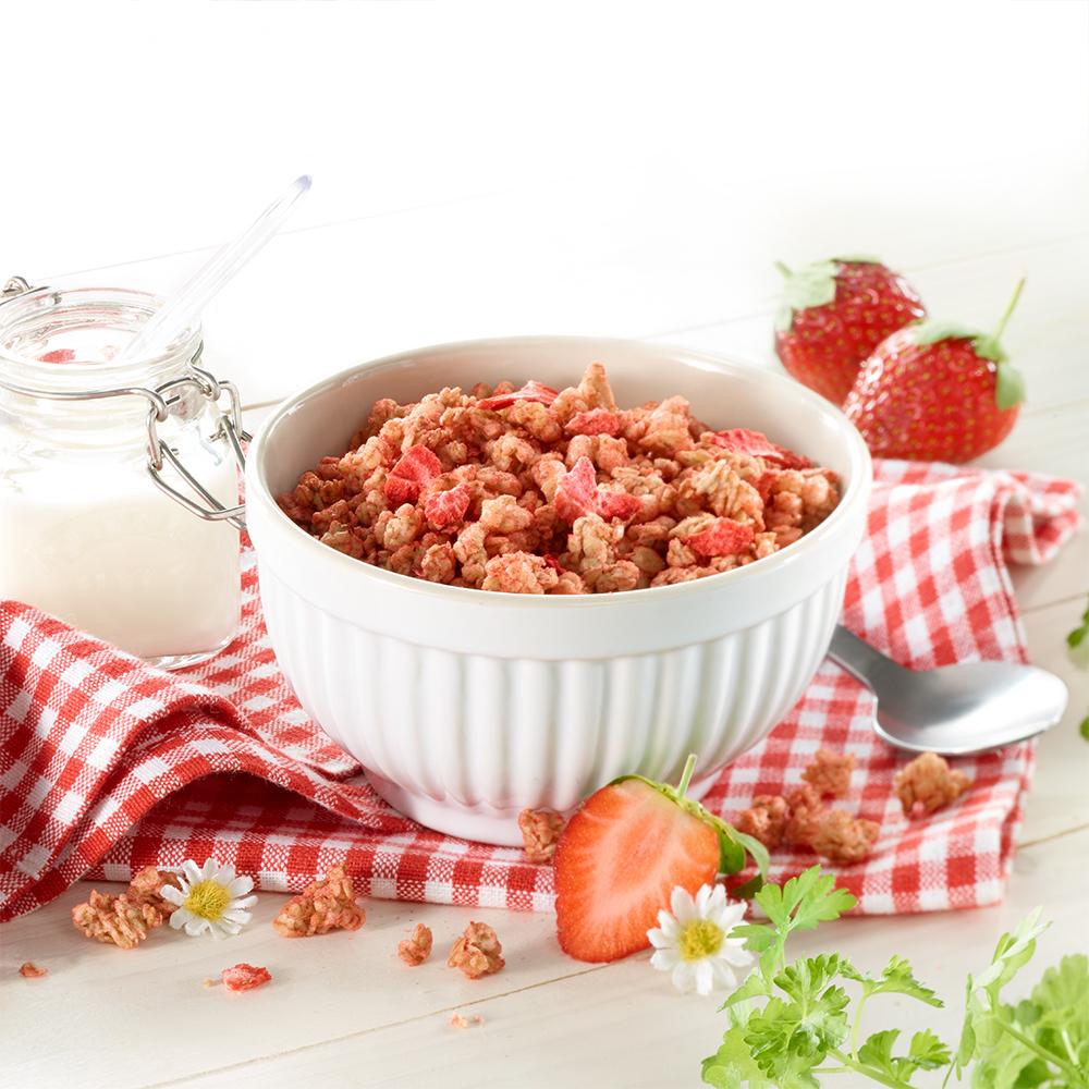 Bio Erdbeergarten-Knusper-Müsli 400 g