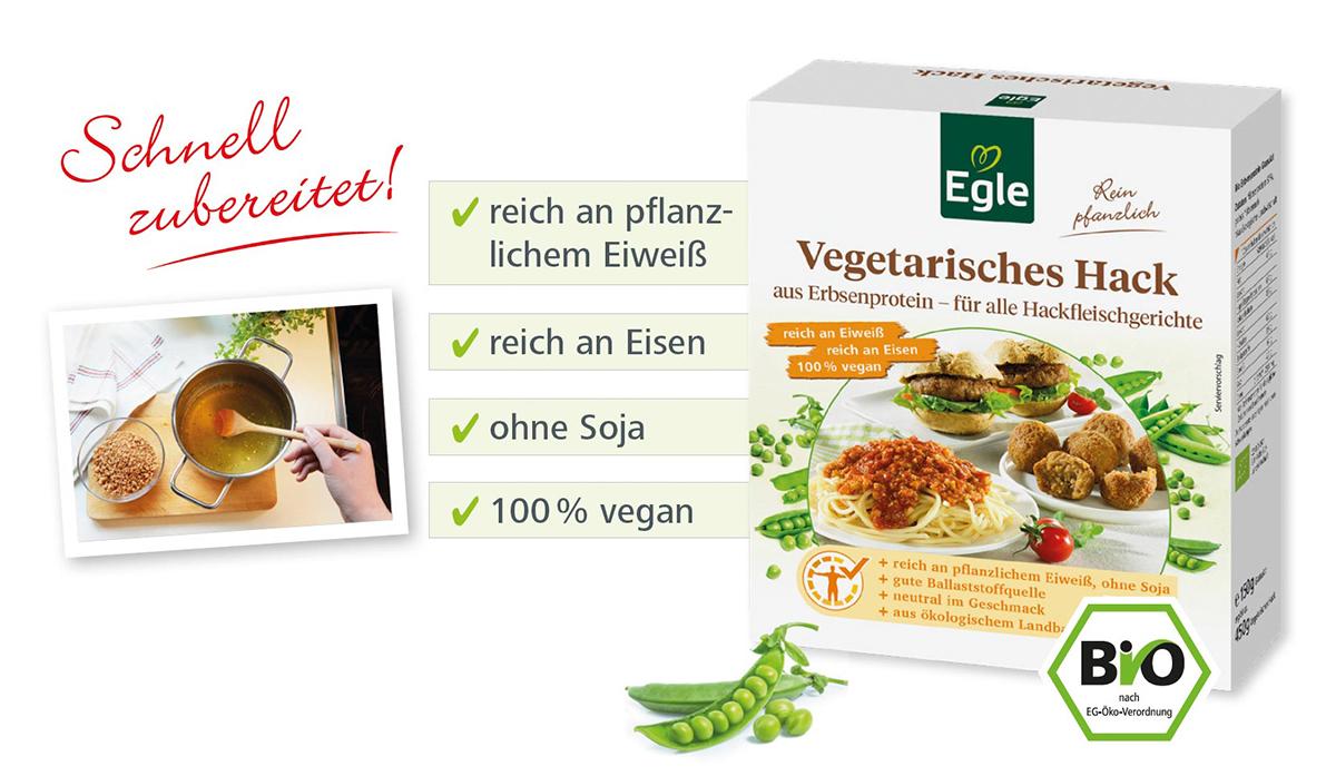 Vegetarisches Hack