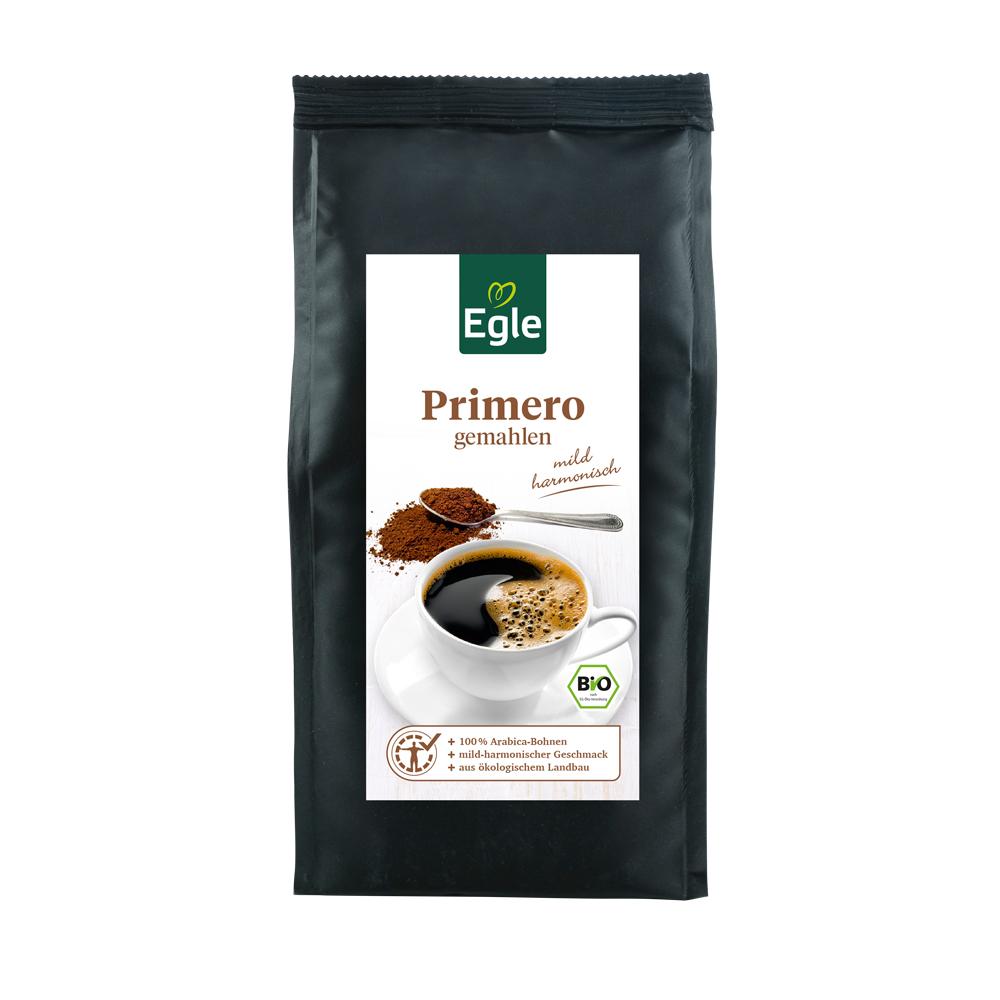 """Bio Kaffee """"Primero"""" Arabica gemahlen 250 g"""
