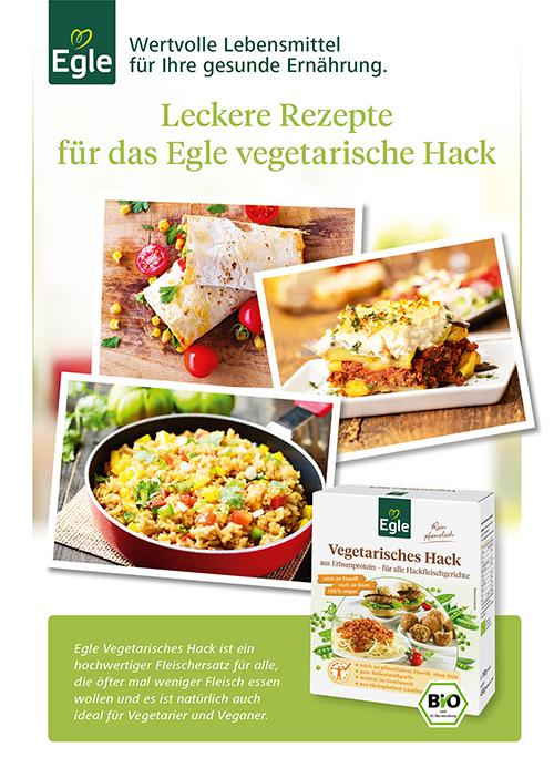 Leckere Rezepte für das Egle vegetarische Hack