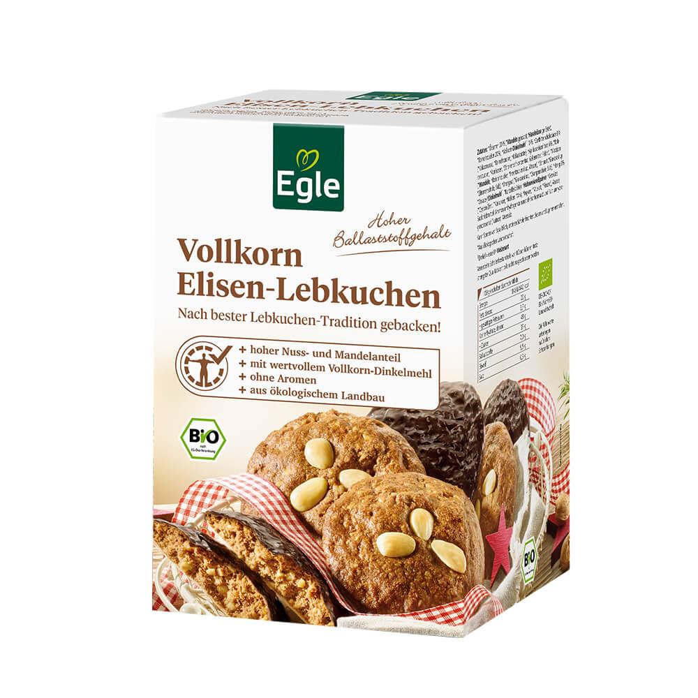 Bio Vollkorn-Elisen-Lebkuchen 525 g