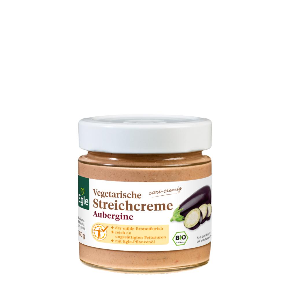 Vegetarische Streichcreme Aubergine 2 x 180 g