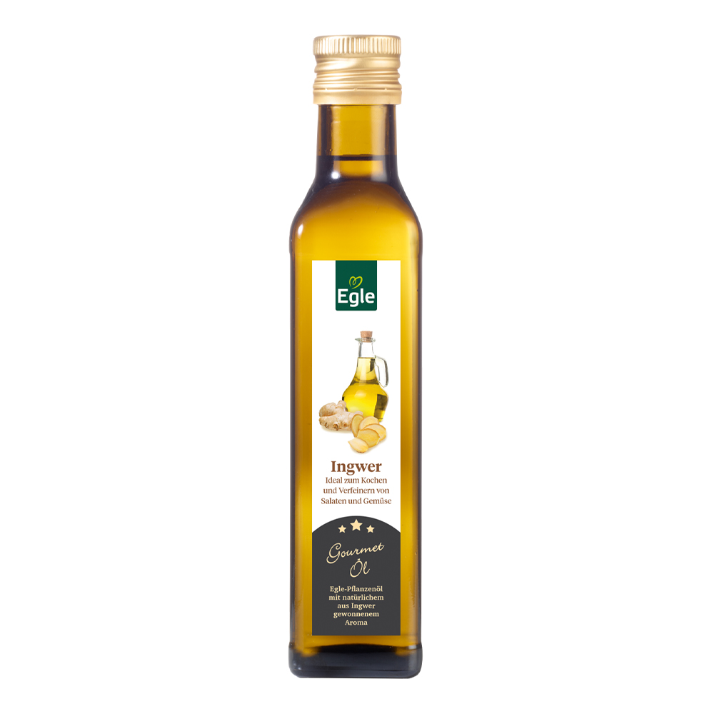 Gourmet Öl Ingwer 0,25 l