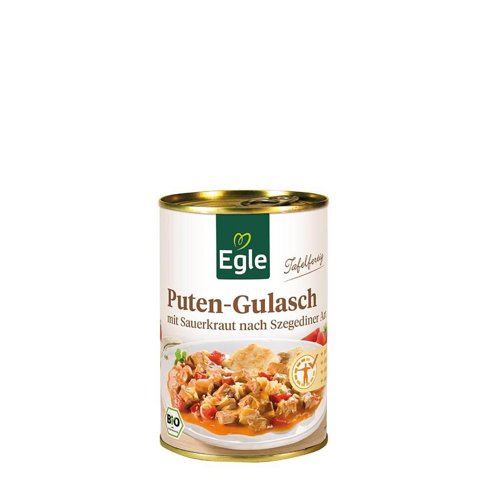 Bio Puten-Gulasch Szegediner Art 400 g