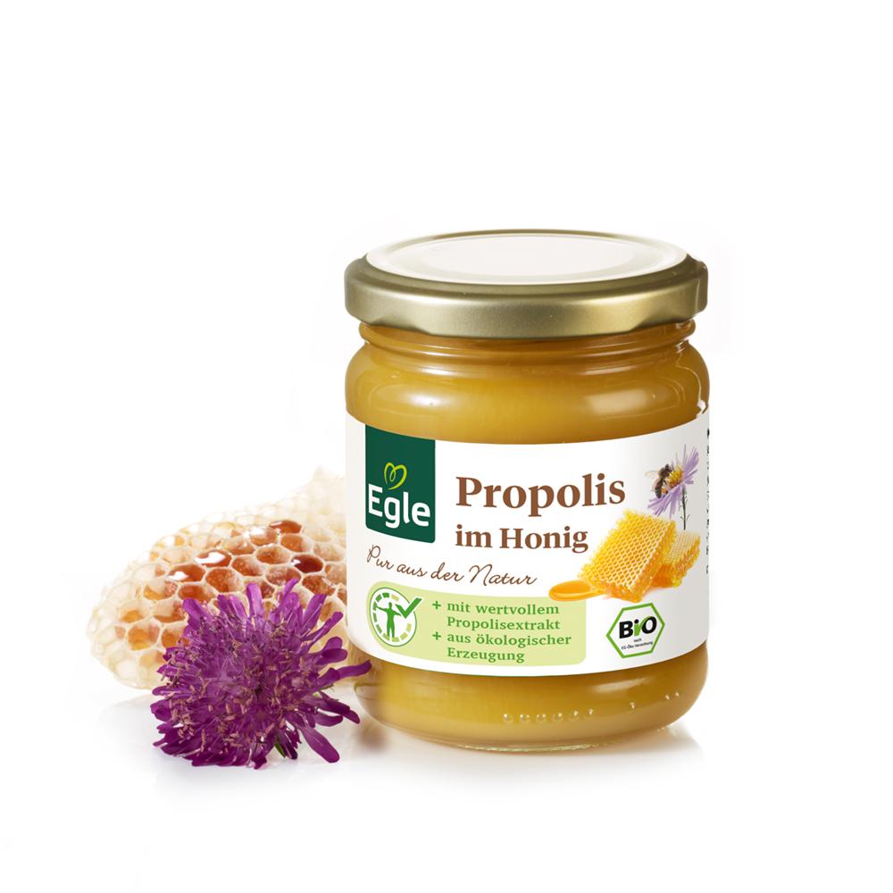 Propolis im Bio-Honig